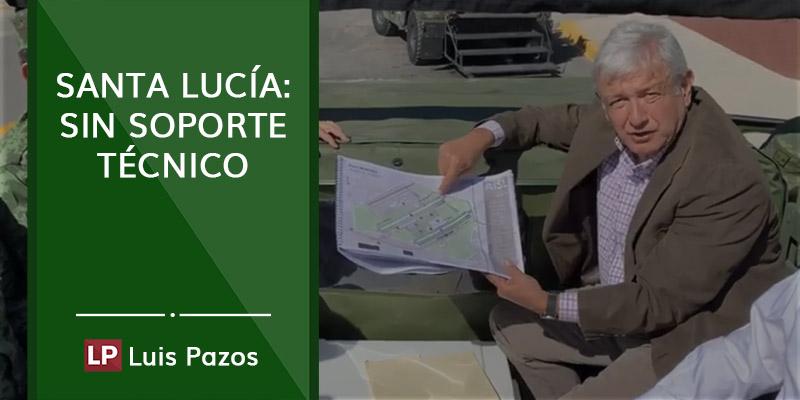 Santa Lucía: sin soporte técnico