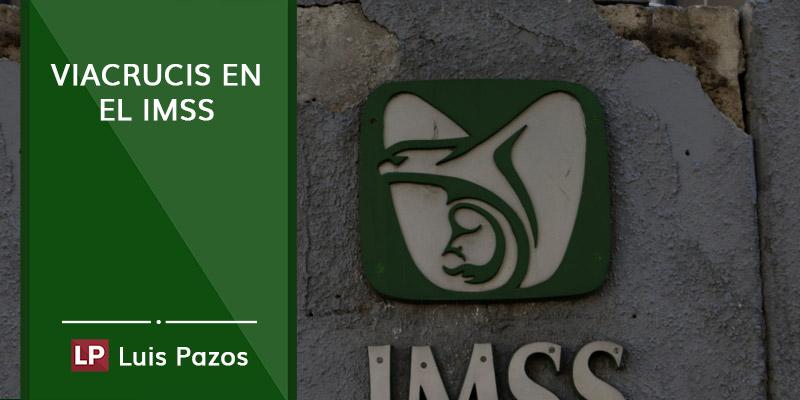 Viacrucis en el IMSS
