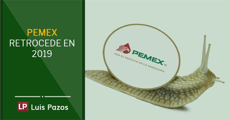 PEMEX retrocede en 2019
