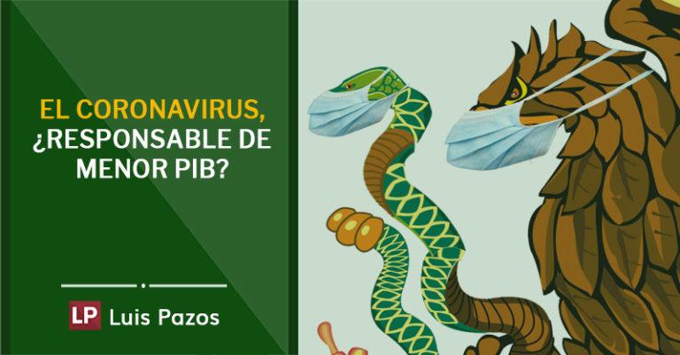 El coronavirus, ¿responsable de menor PIB?